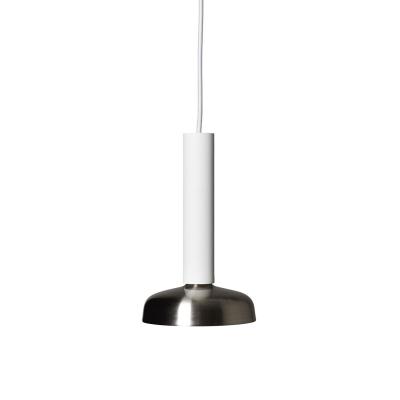 Bilde av Blend taklampe, sølv/hvit