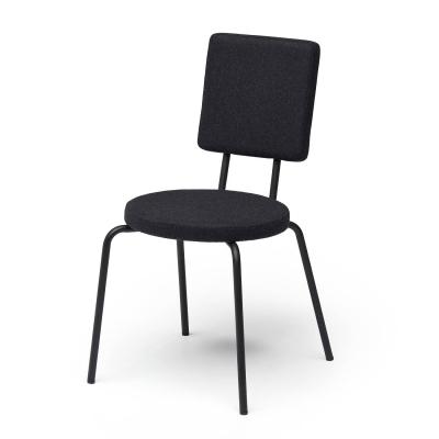 Bilde av Option stol rund/firkantet, svart