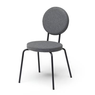 Bilde av Option stol rund/rund, grå