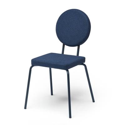 Bilde av Option stol firkantet/rund, mørkeblå
