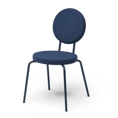 Bilde av Option stol rund/rund, mørkeblå