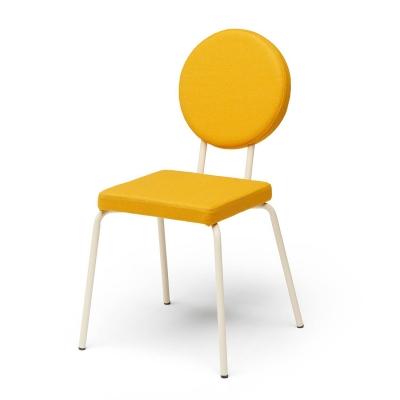 Bilde av Option stol firkantet/rund, gul