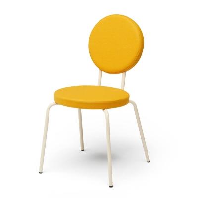 Bilde av Option stol rund/rund, gul