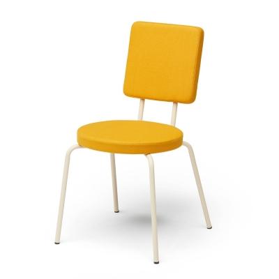 Bilde av Option stol rund/firkantet, gul