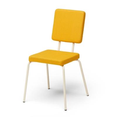 Bilde av Option stol firkantet/firkantet, gul