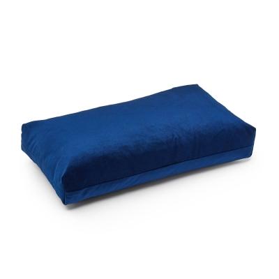 Bilde av Plus rectangle pute, mørkeblå