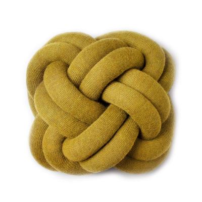 Bilde av Knot pute, gul