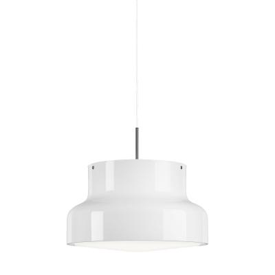 Bilde av Bumling pendel 60 cm, opalt akrylglass/hvit