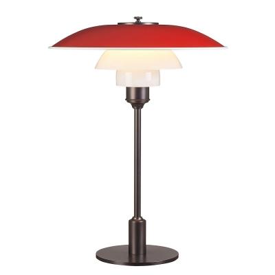 Bilde av PH 3½-2½ bordlampe, rød