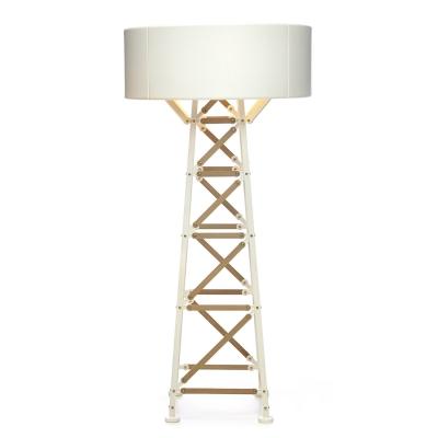 Bilde av Construction Lamp bordlampe L, hvit/tre