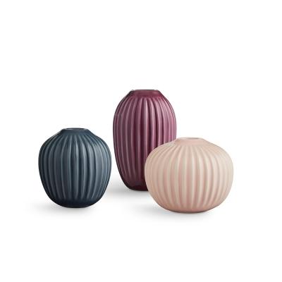 Bilde av Hammershøi vase miniatyr 3-pakning, rosa