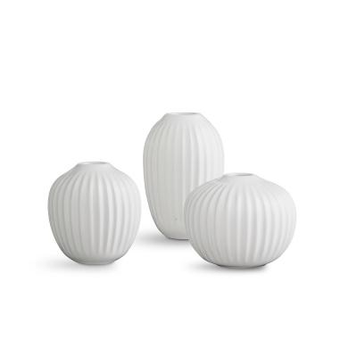 Bilde av Hammershøi vase miniatyr 3-pakning, hvit