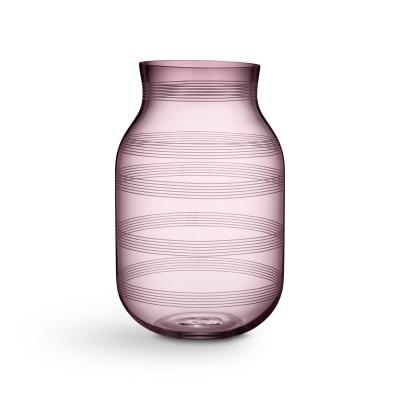 Bilde av Omaggio glassvase L, plomme