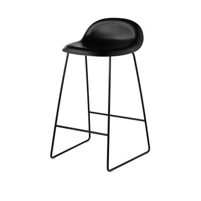 Bilde av Gubi 3D barstol h65, svart