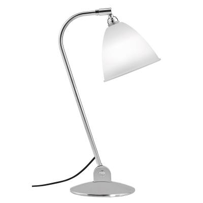 Bilde av BL2 bordlampe, krom/benporselen