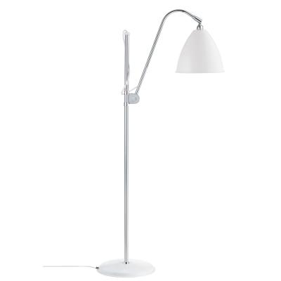 Bilde av BL3M gulvlampe, krom/hvit