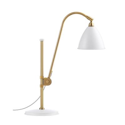 Bilde av BL1 bordlampe, messing/hvit
