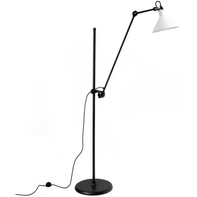 Bilde av N°215 gulvlampe, svart/hvit