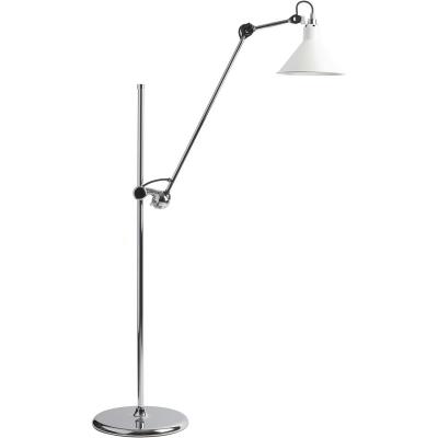 Bilde av N°215 gulvlampe, krom/hvit
