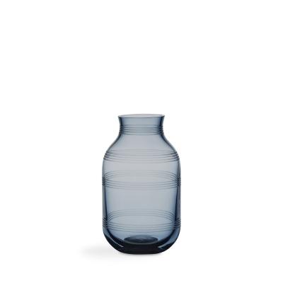 Bilde av Omaggio glassvase S, stålblå