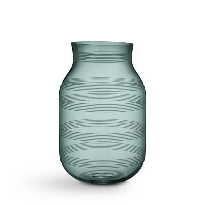 Bilde av Omaggio glassvase L, mosegrønn