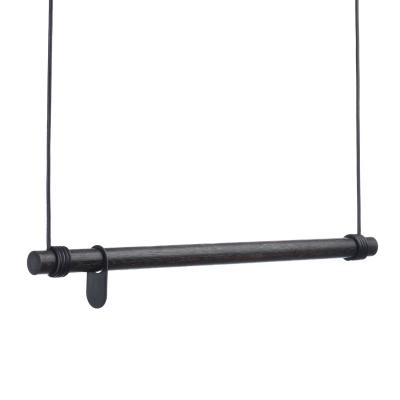 Bilde av Swing stumtjener 80 cm, svart/svart skinn