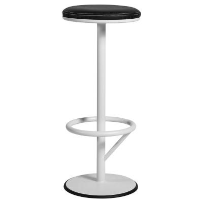 Bilde av Orbit barstol, hvit/sort
