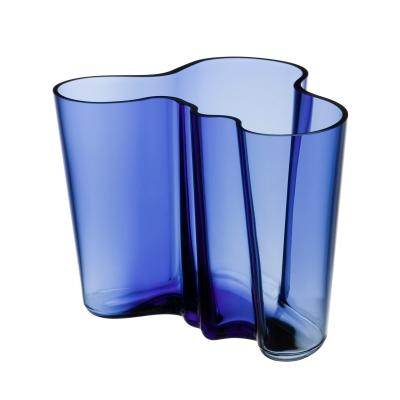 Bilde av Aalto vase 16 cm, ultramarineblå