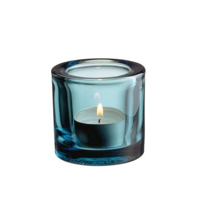 Bilde av Kivi lyslykt 6 cm, havblå