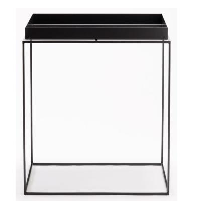 Tray table S square 34cm black
