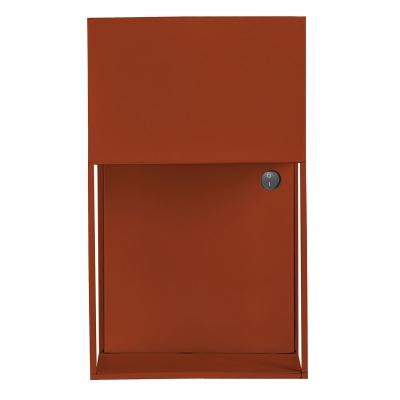 Bilde av Box vegglampe, rustrød
