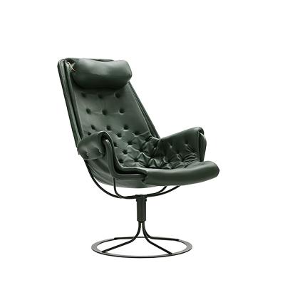 Bilde av Jetson stol limited edition, mørk grønn lær