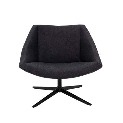 Bilde av Elegant stol, mørk grå/sort