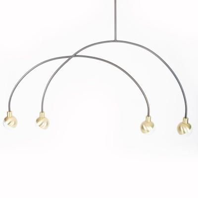 Bilde av Arc pendant lamp mobile, messing