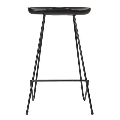 Bilde av Kensington barstol, svart/ask
