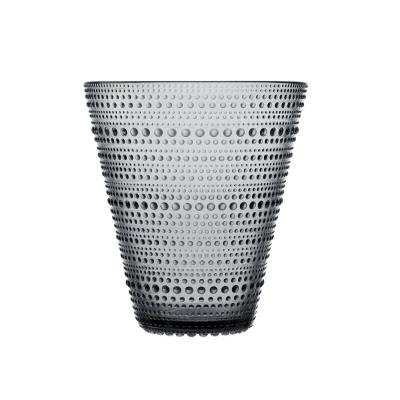 Bilde av Kastehelmi vase 15,4 cm, grå
