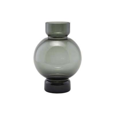 Bilde av Bubble vase 17 x 25, grå