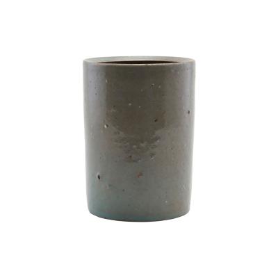 Bilde av Clay krukke S, grå/grønn