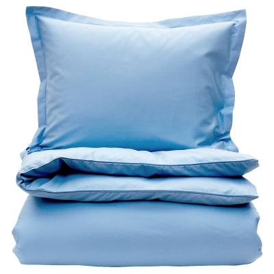 Bilde av Sateen dynetrekk enkelt, hamptons blue