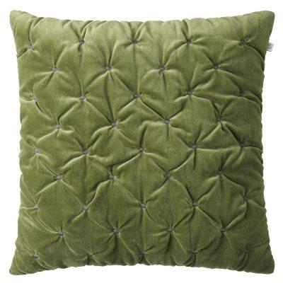 Bilde av Mini Dot Velvet putetrekk 50x50, cactus green/green
