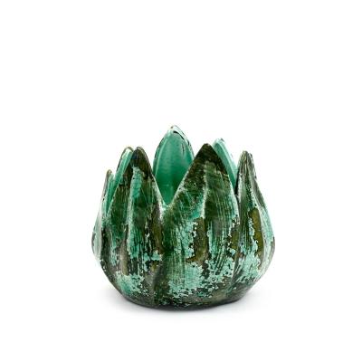 Bilde av Long Leaves krukke M, grønn