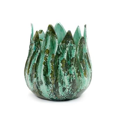 Bilde av Long Leaves krukke L, grønn