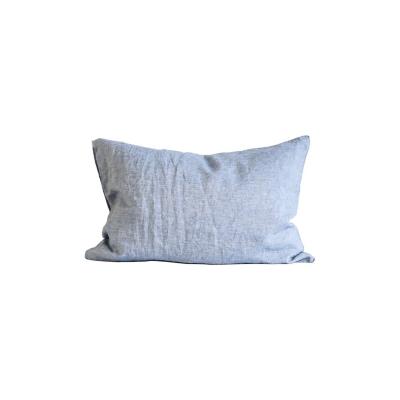 Bilde av Washed Linen putetrekk 50x70 2-pakning, woven light blue
