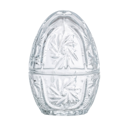 Bilde av Glassegg med lokk, transparent