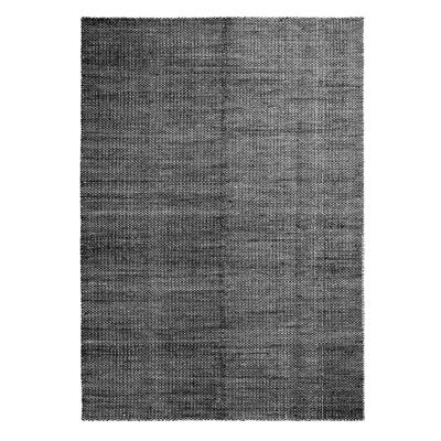 Bilde av Moiré Kelim teppe 200x300, svart