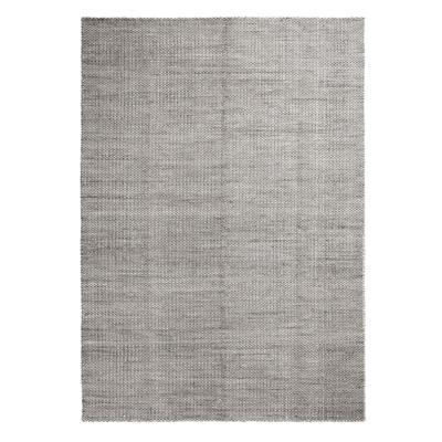 Bilde av Moiré Kelim teppe 140x200, grå