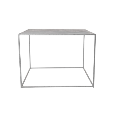 Bilde av Domo High Square spisebord, galvanisert