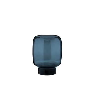 Bilde av Hoop vase 18 cm M, midnight blue