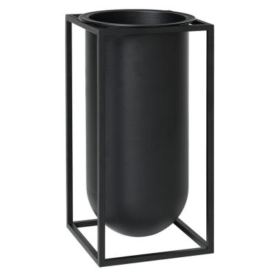 Bilde av Kubus Lolo vase, svart