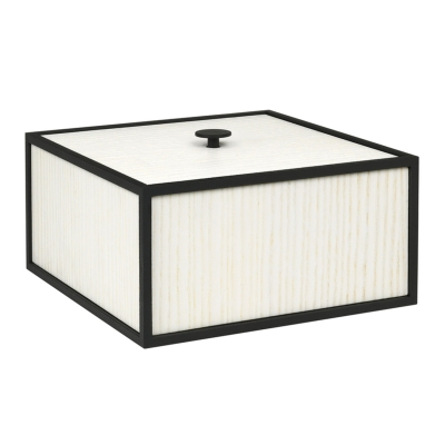 Bilde av Frame 20 boks med lokk, hvit ask